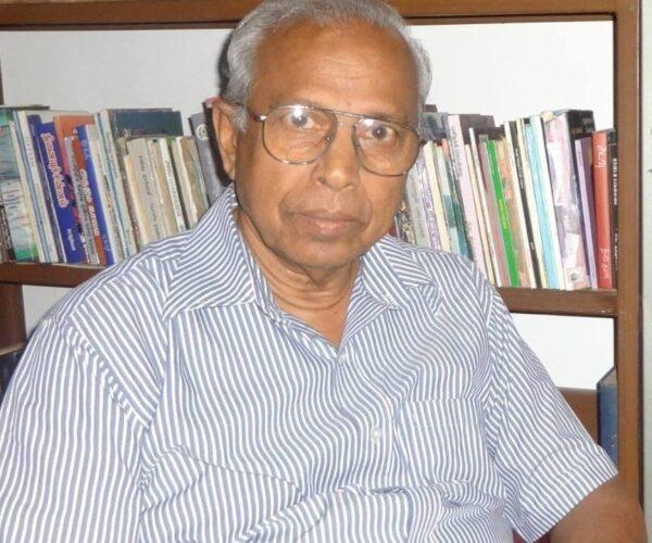 இலக்கணப் போர் முனைக்குள் பேராசிரியர்கள் – எம். ஏ. நுஃமான் + அ. ராமசாமி